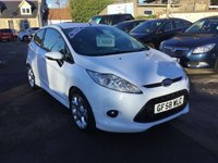 USED 2009 58 FORD FIESTA 1.6 ZETEC S 3d 118 BHP OUTSTANDING CONDITION WITH FULL DEALER HISTORY