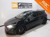 USED 2016 16 FORD FOCUS 2.3 RS 5d 346 BHP THIS CAR LOOKS AND DRIVES LIKE NEW, WITH FULL FORD SERVICE HISTORY 2 STAMPS ABSOLUTELY BEAUTIFUL CONDITION,Includes £2625 of options, £812 19-inch alloys WITH BLUE UPGRADED CALIPERS;  £833 Luxury pack which includes POWER FOLDING MIRRORS , REAR PARKING CAMERA, HALF LEATHER, 2 KEYS, PRIVACY GLASS, KEY LESS GO SYSTEM;