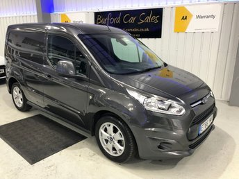 2017 FORD TRANSIT CONNECT 1.5 200 LIMITED P/V 1d 118 BHP £11990.00