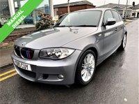 2010 BMW 1 SERIES 2.0 120D M SPORT 5d 175 BHP £6495.00