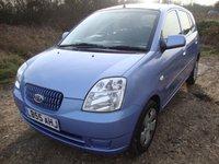 USED 2005 55 KIA PICANTO 1.1 LX 5d 65 BHP Kia Picanto LX, 1.1, 5 door, manual in light blue