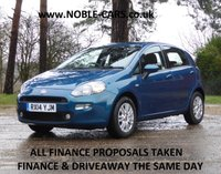 2014 FIAT PUNTO 1.2 MULTIJET EASY 5d 85 BHP £4695.00