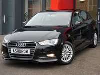 USED 2016 16 AUDI A3 SPORTBACK 1.6 TDI ULTRA SE TECHNIK 5d 110 S/S £0 TAX, 1 OWNER FROM NEW, SAT NAV, REAR ACOUSTIC PARKING SENSORS, CRUISE CONTROL, DAB DIGITAL RADIO, BLUETOOTH PHONE & MUSIC STREAMING, AUDI MUSIC INTERFACE FOR IPOD/USB DEVICES (AMI), MANUAL 6 SPEED GEARBOX, START STOP, FRONT FOG LIGHTS, HEADLAMP WASHERS, 16 INCH MULTI SPOKE ALLOYS, GREY CLOTH INTERIOR, LEATHER MULTIFUNCTION STEERING WHEEL, A/C, CD HIFI WITH 2x SD CARD READERS, FRONT CENTRE ARM REST, TYRE PRESSURE MONITORING SYSTEM, ELECTRIC HEATED DOOR MIRRORS, ISO FIX, VAT QUALIFYING.