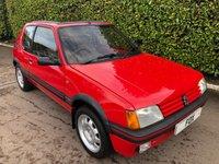 USED 1987 D PEUGEOT 205 1.9 GTI 3d 130 BHP
