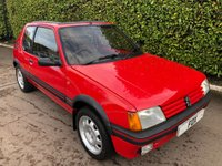 1987 PEUGEOT 205 1.9 GTI 3d 130 BHP £11975.00