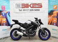 2015 YAMAHA MT 125 ABS 125CC LEARNER LEGAL COMMUTER ABS BRAKES £2695.00