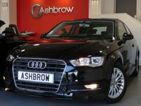 USED 2016 65 AUDI A3 1.6 TDI ULTRA SE TECHNIK 3d 110 S/S £0 TAX, 1 OWNER FROM NEW, SAT NAV, REAR ACOUSTIC PARKING SENSORS, CRUISE CONTROL, DAB, BLUETOOTH PHONE & MUSIC STREAMING, AUDI MUSIC INTERFACE FOR IPOD/USB DEVICES (AMI), MANUAL 6 SPEED GEARBOX, START STOP TECHNOLOGY, FRONT FOG LIGHTS, HEADLAMP WASHERS, 16 INCH MULTI SPOKE ALLOYS, GREY CLOTH INTERIOR, LEATHER MULTIFUNCTION STEERING WHEEL, AIR CONDITIONING, CD HIFI W/ 2x SD CARD READERS, FRONT CENTRE ARM REST, TYRE PRESSURE MONITORING SYSTEM, ELECTRIC HEATED DOOR MIRRORS, ISO FIX, VAT QUALIFYING.