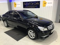 USED 2014 63 MERCEDES-BENZ C CLASS 2.1 C200 CDI BLUEEFFICIENCY EXECUTIVE SE 4d AUTO 135 BHP SAT NAV! PRIVACY GLASS! FSH!