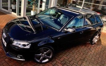 2012 AUDI A3 2.0 SPORTBACK TDI S LINE SPECIAL EDITION 5d 138 BHP £SOLD