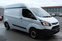 USED 2015 15 FORD TRANSIT CUSTOM 2.2 290 L1H2  P/V 1d 124 BHP HIGH ROOF MODEL - SIDE LOADING DOOR