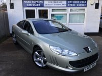 USED 2006 06 PEUGEOT 407 2.7 COUPE GT HDI 2d AUTO 202 BHP