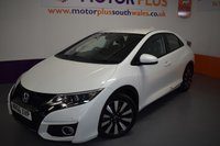USED 2016 66 HONDA CIVIC 1.8 I-VTEC SE PLUS NAVI 5d 140 BHP