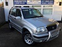 2001 SUZUKI GRAND VITARA 2.0 16V 5d AUTO 127 BHP £4995.00