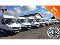 USED 2013 63 MERCEDES-BENZ SPRINTER 2.1 313 CDI MWB AUTO FRIDGE CHILLER LUTON BOX CHASSIS CAB  RARE AUTO 11FT 5 INCH FRIDGE BOX, ONE OWNER, FDSH