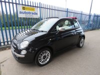 USED 2013 63 FIAT 500 1.2 Lounge 2dr Low Miles & Retractable Roof
