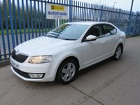 USED 2014 14 SKODA OCTAVIA 1.6 TDI CR DPF SE 5dr Bluetooth & Audio Air con