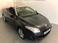 USED 2011 11 RENAULT MEGANE 1.4 DYNAMIQUE TOMTOM TCE 2d 130 BHP Very LOW Mileage Convertible -ONLY 44,532 Miles with Full Service History -Power hard roof with Pan Glass panel,huge boot,air con,unmarket alloys -must be viewed !