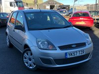 2007 FORD FIESTA 1.4 STYLE CLIMATE 16V 5d 68 BHP £1995.00