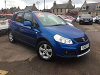 USED 2012 12 SUZUKI SX4 1.6 SZ4 5d AUTO 118 BHP LOW MILEAGE AUTOMATIC WITH MAIN DEALER HISTORY AND 1 PREVIOUS KEEPER