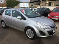 USED 2011 61 VAUXHALL CORSA 1.2 EXCITE AC CDTI ECOFLEX 5d 73 BHP FULL SERVICE HISTORY! LOW MILEAGE DIESEL! 1 OWNER!