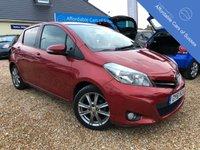 2011 TOYOTA YARIS 1.3 VVT-I SR 5d AUTO 98 BHP £SOLD