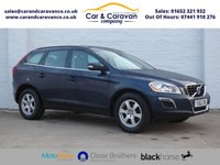 USED 2012 62 VOLVO XC60 2.0 D4 SE NAV 5d 163 BHP Service History New Timing Belt Buy Now, Pay Later Finance!