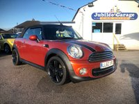 USED 2010 60 MINI CONVERTIBLE 1.6 COOPER D 2d 112 BHP Low miles, £500 Extras, CHILI Pack, Fantastic Condition!