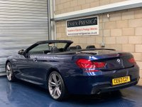 USED 2013 63 BMW 6 SERIES 3.0 640d M Sport Convertible 2dr Diesel Automatic (s/s) (148 g/km, 313 bhp) +FULL SERVICE+WARRANTY+FINANCE