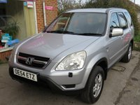 USED 2004 54 HONDA CR-V 2.0 I-VTEC SE SPORT AUTO 5d AUTO 148 BHP RARE AUTOMATIC VERY LOW MILEAGE FINANCE ME TODAY-UK DELIVERY POSSIBLE