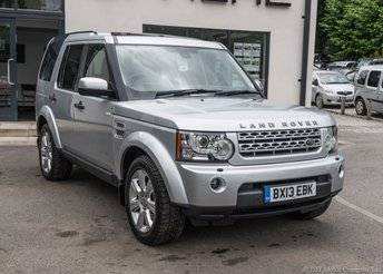 2013 LAND ROVER DISCOVERY 3.0 4 SDV6 HSE 5d AUTO 255 BHP £20990.00