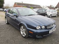 USED 2009 59 JAGUAR X-TYPE 2.2 SE 4d 155 BHP FULL LEATHER SAT NAV FULL SERVICE HISTORY