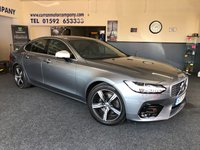 2017 VOLVO S90 2.0 D4 R-DESIGN 4d AUTO 188 BHP £19990.00