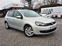 USED 2011 11 VOLKSWAGEN GOLF 1.6 MATCH TDI DSG 5d AUTO 103 BHP 2 PREVIOUS OWNERS+FULL SERVICE