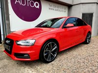 USED 2014 14 AUDI A4 2.0 TDI S LINE 4d 148 BHP PRIVACY GLASS + BLACK EDITION STYLING