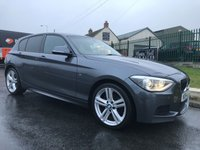 2014 BMW 1 SERIES 2.0 120D XDRIVE M SPORT 1 local owner full bmw service history good spec  £13495.00