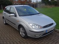 USED 2004 53 FORD FOCUS 1.6 ZETEC 5d 99 BHP Trade Clearance!