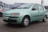 USED 2002 52 FIAT PUNTO 1.2 ACTIVE 5d 60 BHP