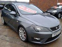 2012 SEAT IBIZA 1.6 CR TDI FR 3d 104 BHP £4675.00