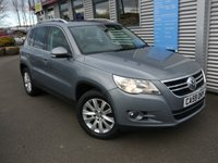 2010 VOLKSWAGEN TIGUAN 2.0 SE TDI BLUEMOTION TECHNOLOGY 5d 140 BHP £7495.00