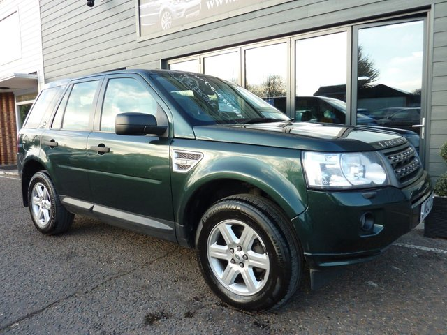 2010 60 LAND ROVER FREELANDER 2.2 TD4 GS 5d 150 BHP