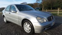 USED 2003 B MERCEDES-BENZ C CLASS 1.8 C180 KOMPRESSOR CLASSIC 4d 143 BHP 12 MONTH MOT, 2 X KEYS, AIR-CONDITIONING, CD-PLAYER, REMOTE LOCKING, ELECTRIC SEATS, CLIMATE CONTROL, ELECTRIC WINDOWS, ELECTRIC MIRRORS