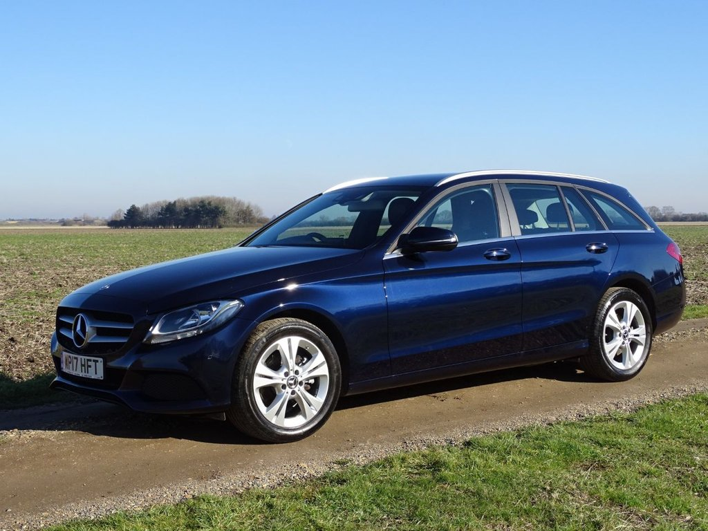 USED 2017 17 MERCEDES-BENZ C-CLASS 2.1 C 220 D SE EXECUTIVE EDITION 5d AUTO 170 BHP