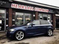 USED 2008 08 BMW 1 SERIES 2.0 123D M SPORT 5d 202 BHP