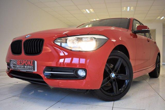 2013 63 BMW 1 SERIES 116D SPORT 5 DOOR