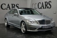 USED 2013 13 MERCEDES-BENZ S CLASS 3.0 S350 BLUETEC L AMG SPORT EDITION 4d 258 BHP Black Full Leather Heated Electric Memory Seats, Command - Satellite Navigation + Bluetooth Connectivity + DAB Radio + Harmon Kardon Premium Sound, 19 Inch AMG Alloy Wheels, Front and Rear Park Distance Control + Reverse Camera, Panoramic Glass Roof, Wood / Leather Multi Function Steering Wheel, Cruise Control, Voice Control, Privacy Glass, Digital 4 Zone Climate Control, Heated Electric Powerfold Mirrors