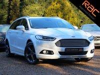 USED 2016 16 FORD MONDEO 2.0 TITANIUM TDCI 5d AUTO 177 BHP