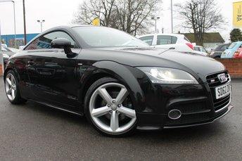 2012 AUDI TT 2.0 TFSI S LINE 2d 211 BHP £10700.00