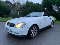 USED 1999 MERCEDES-BENZ SLK 2.3 SLK230 KOMPRESSOR 2d AUTO 190 BHP RARE IN WHITE, CLEAN CAR, GOOD HISTORY, PX TO CLEAR!!!