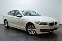 USED 2015 64 BMW 5 SERIES 2.0 518D SE 4d 148 BHP 1 OWNER + FULL BMW HISTORY + SAT NAV + XENONS + HEATED LEATHER
