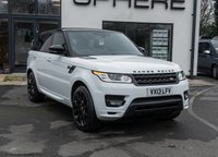 USED 2013 13 LAND ROVER RANGE ROVER SPORT 3.0 SDV6 AUTOBIOGRAPHY DYNAMIC 5d AUTO 288 BHP